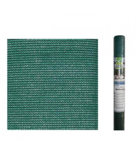 IDEAL GARDEN Toile brise vue - 100 g/m² - 2 x 10 m - Vert