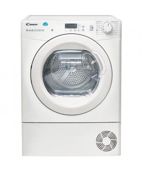 CANDY CS H10A1LE-S Seche-linge - 10 kg - Séchage pompe a chaleur - Classe A+ - Blanc