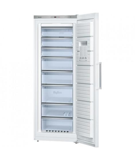 BOSCH GSN58AW35 - Congélateur armoire - 360L - Froid ventilé - Classe A++ - L 70 x H 191 cm