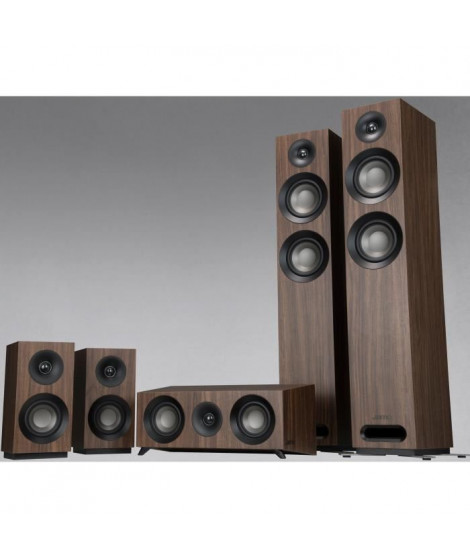 JAMO S807HCS Pack Home Cinéma 5.0 - Dolby atmos ready - Walnut