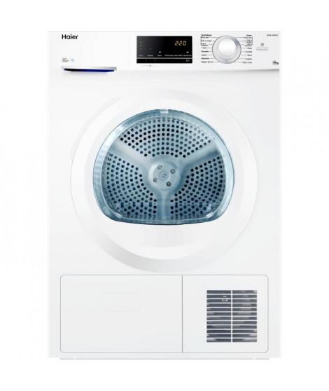 HAIER D836W - Seche-linge - 8 kg - Condensation - Classe B - Blanc