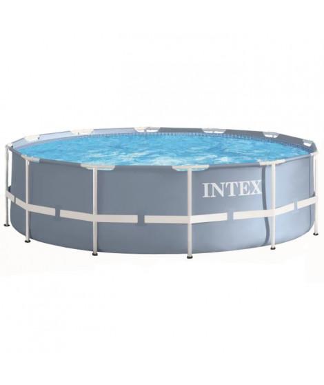 INTEX Kit piscine tubulaire ronde Prism Frame Ø 3,66 x 0,99 m