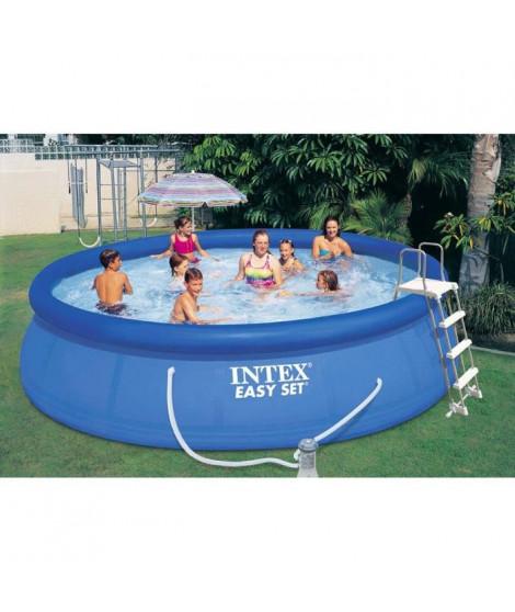 INTEX Kit piscine autoportée Easy Set - Ø457 x 106 cm