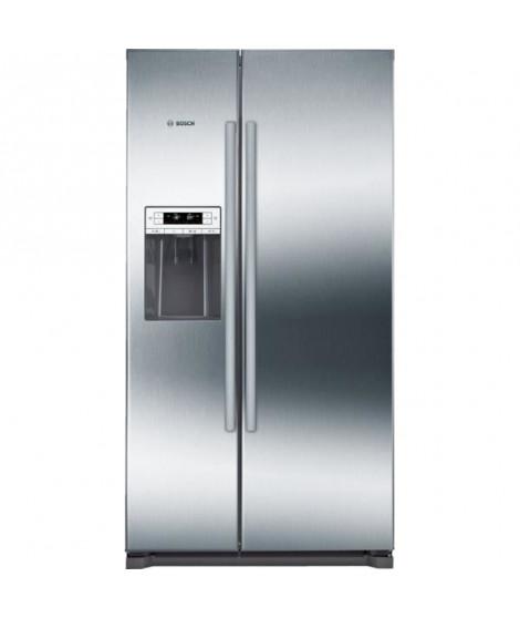 BOSCH KAD90VI30 Réfrigérateur américain-533 L (370 L + 151 L )-Froid ventilé-A++-L 91 x H 177 cm-Inox