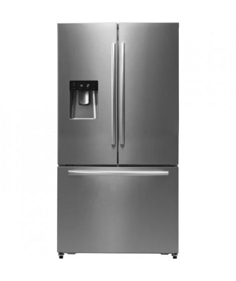 HISENSE - RF697N4ZS1 -  Réfrigérateur multi-portes - 536L (417L + 119L) - froid ventilé total - A+ - L91cm x H178cm - Inox look