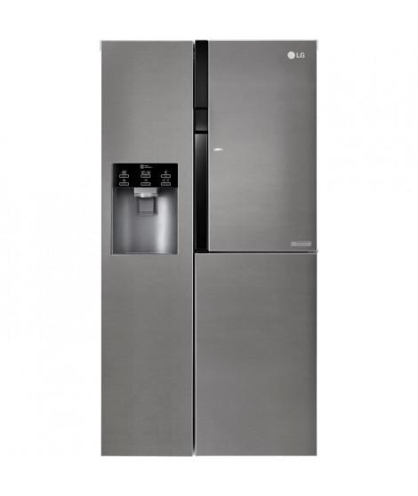 LG - GSJ360DIDV - Réfrigerateur américain - 591L (394L + 197L) - NO FROST - A+ - L91,2cm x H179cm - Graphite - Door in Door