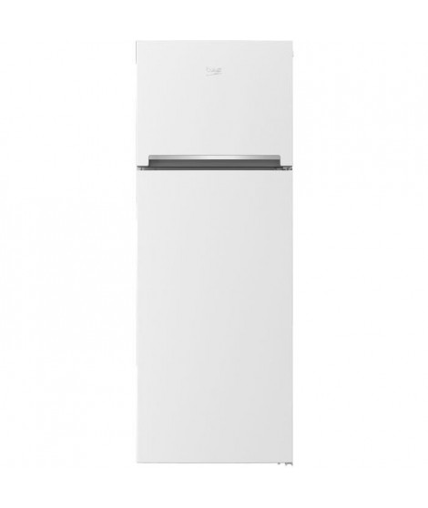 BEKO - RED29W - Réfrigérateur congélateur haut - 278L (209L + 69L) - Froid statique - A+ - L59,5cm x H162cm ? Blanc