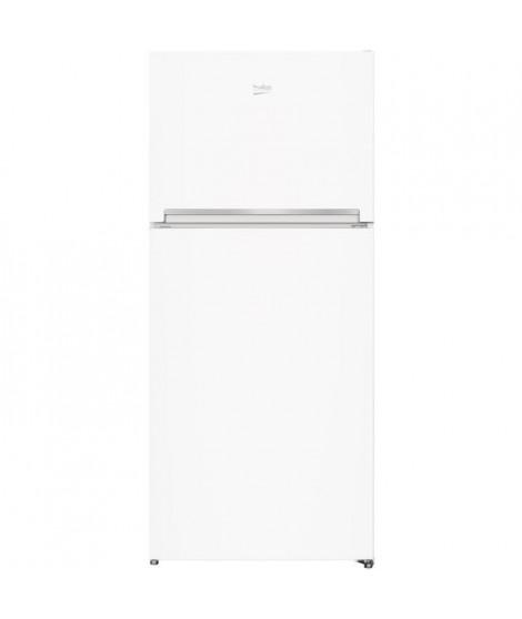 BEKO - RDSE450K20W - Réfrigérateur double porte - 389L (292L + 97L) - Froid Brassé -  A+ - L70cm x H170,5cm - Blanc