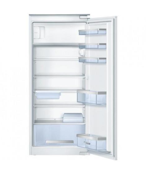 BOSCH KIL24X30 -Réfrigérateur encastrable 1 porte avec freezer-200 L (183 L + 17 L)-Froid statique-A++-L 56 x H 122,5 cm