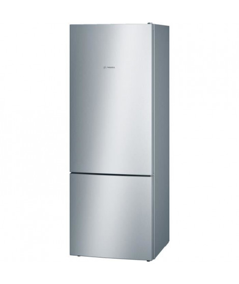 BOSCH KGV58VL31S - Réfrigérateur combiné - 500 L (376 L + 124 L) - Froid low frost grande capacité- A++ - L 70 x H 191 cm - Inox