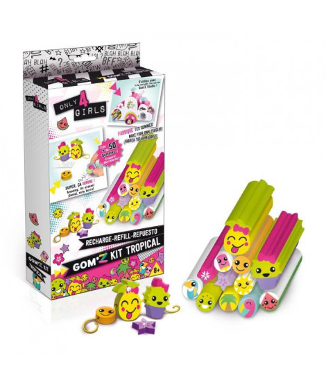 CANAL TOYS - Gom'z Kit Tropical - Crée Tes Gommes