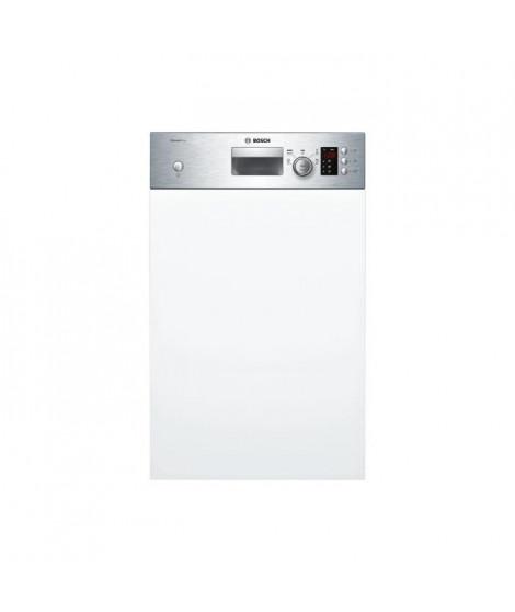 BOSCH SPI25CS03E - Lave vaisselle encastrable - 9 couverts - 46 dB - A+ - L 45 cm - Bandeau inox