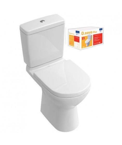 VILLEROY & BOCH Pack WC sur pied O.novo Plus sortie verticale