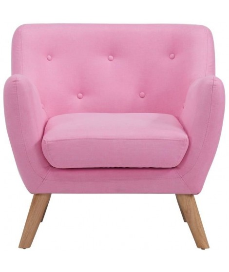 SCANDI Fauteuil design scandinave Rose