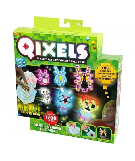 QIXELS - Kit Design GLOW (1200 cubes)