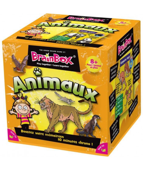 BRAINBOX Animaux - Jeu d'apprentissage