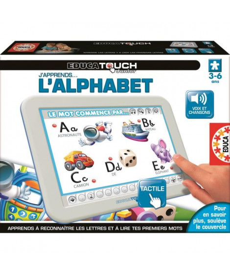 EDUCA Touch Junior L'Alphabet tablette
