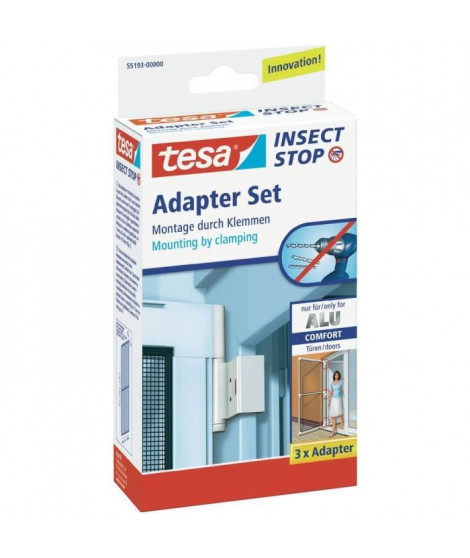 TESA Cadre moustiquaire pour fenetre - Avec répulsif insectes
