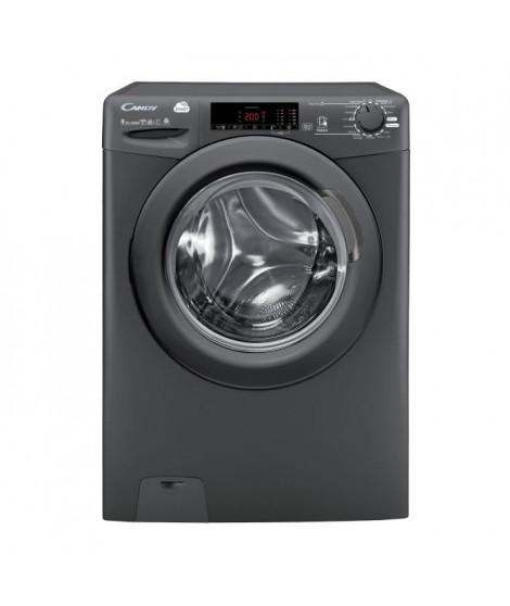 Lave-linge séchant hublot - CANDY - CSWS 496TRR