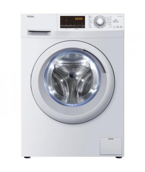 Lave-linge séchant hublot - HAIER - HWD8436