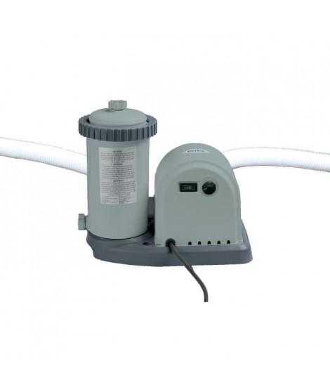 INTEX Filtre épurateur a cartouche 5,7 m³/h - Pour piscine 23 m³
