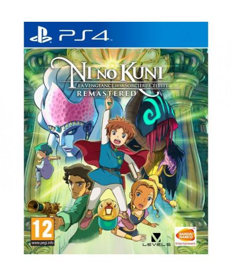 Ni no Kuni : La Vengeance de la Sorciere Céleste Remastered Jeu PS4