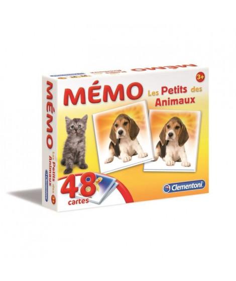 CLEMENTONI Mémo - Les petits des Animaux - Jeu de mémorisation