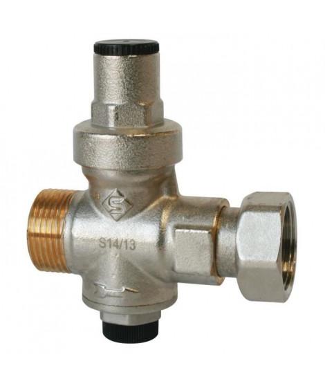 SOMATHERM Réducteur de pression a piston - Chauffe-eau - Mâle 15/21 - Ecrou 20/27