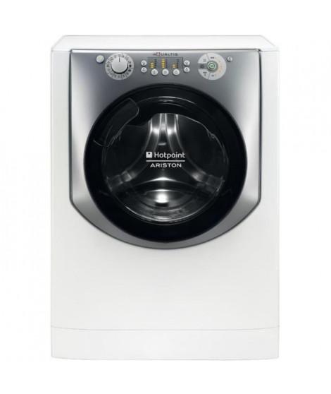 HOTPOINT AQD970L 49 EU - Lave linge séchant frontal - Lav. 9kg / séch. 7kg - 1400 tr / min - A - Moteur induction - Blanc