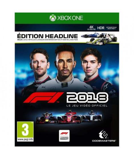F1 2018 Headline Edition Jeu Xbox One