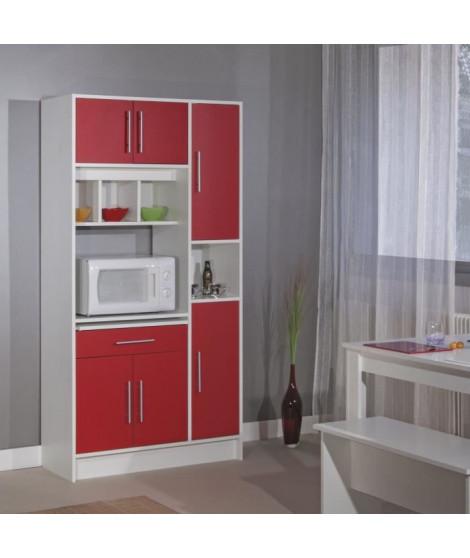 PEPPER Buffet de cuisine L 88 cm - Rouge mat