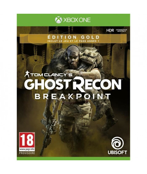 Ghost Recon BREAKPOINT Édition Gold Jeu Xbox One