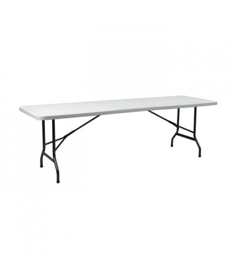 INNOV'AXE Table Pliante Camping - Rectangulaire - 240 Cm