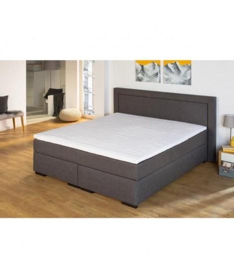FINLANDEK Surmatelas NALLE 160x200 cm - Mousse - Equilibré - 35 kg/m3 - 2 personne