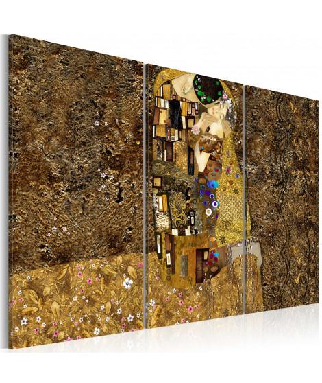 Tableau - Klimt inspiration - Baiser