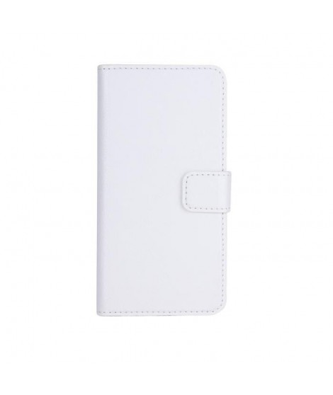 Etui Folio XQISIT Slim Wallet iPhone 6/6S blanc