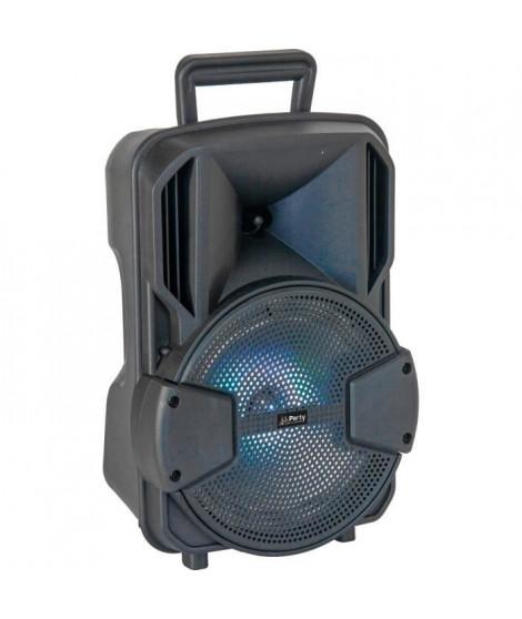 """PARTY LIGHT & SOUND 15-6135PLS Enceinte active 8"""" - LED, Bluetooth, USB"""