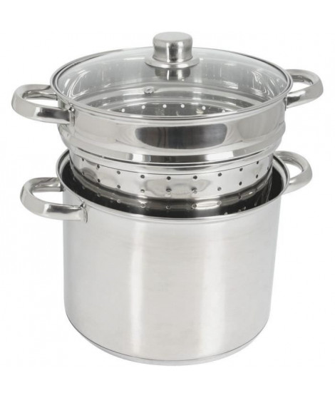 CREALYS 504626 cuit pates inox 8l induction