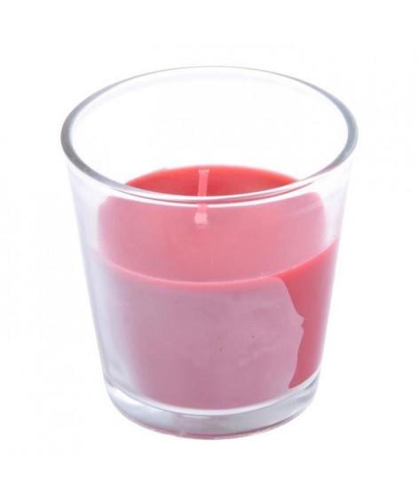 Bougie parfumée fruits rges (Lot de 3)