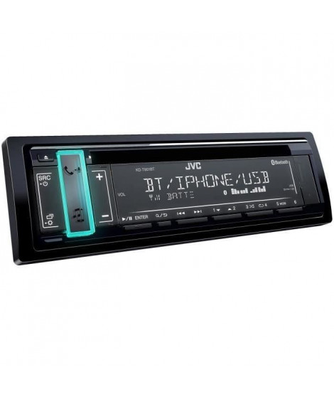 JVC - KD T801 Bt - Autoradio Bluetooth CD USB