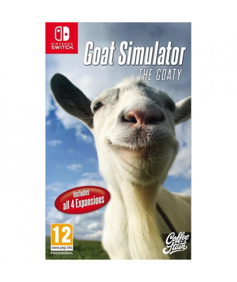 GOAT Similator : The Goaty Jeu Switch