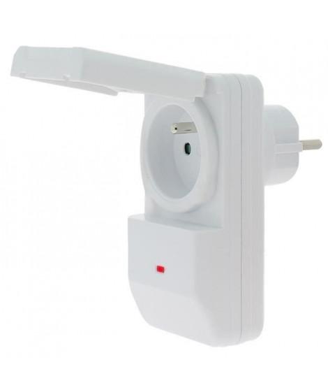 SEDEA Prise télécommandée avec télécommande 16 A a usage extérieur (Lot de 2)