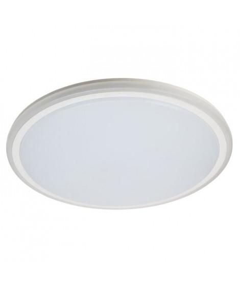 BRILLANT Plafonnier Tizian - Métal - LED 40W - Blanc plastique