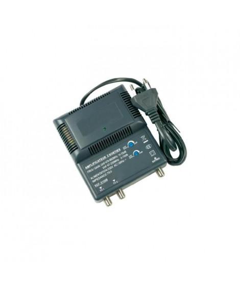 OPTEX 051008  Amplificateur intérieur blindé 2 sorties - Noir