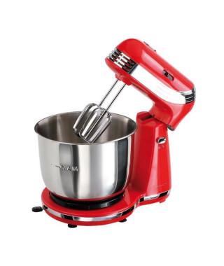 DOMOCLIP - Robot pâtissier multifonction DOP137R rouge