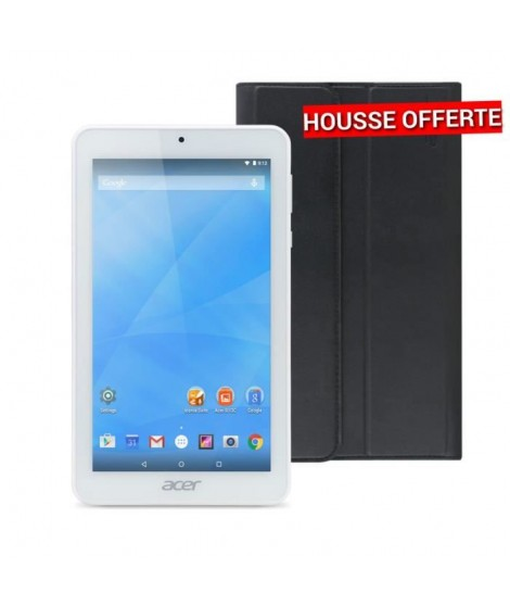 "Acer Tablette Tactile iconia One 7 B1-770 + Housse de protection - 7"" - 1Go RAM - Android 5.0 - Processeur Quad Core - ROM 16Go"