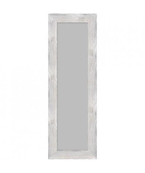 BOLOGNE Miroir psyché mdf 47x137 cm Blanc laqué