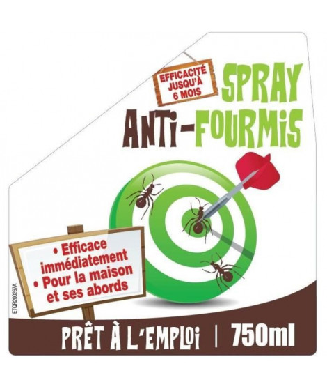 NONA Spray anti-fourmis - 750 ml