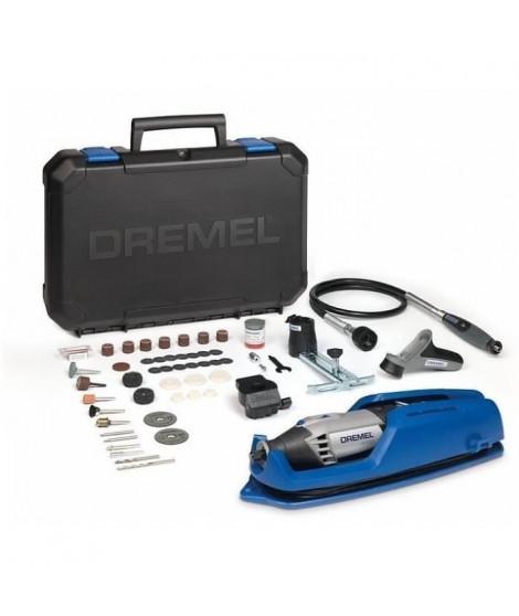 DREMEL Outil multi-usage 4000-4/65 - 4 adaptations - 65 accessoires - 175 W
