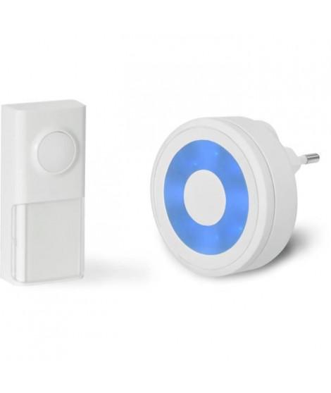 SCS SENTINEL Carillon - EcoBell 100 Light - Sans fil - Sans pile avec halo lumineux